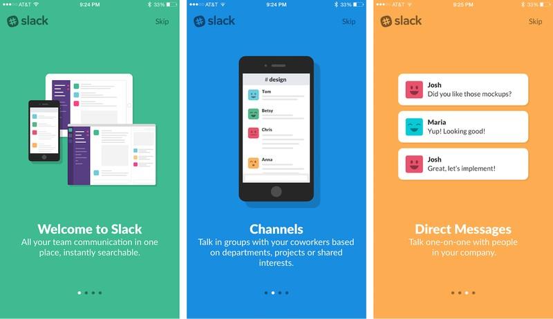 Онбординг в Slack App