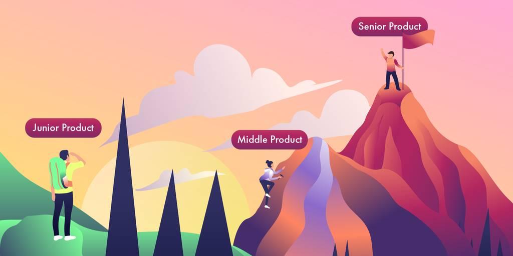 Уровни продакт-менеджера: senior, middle, junior, CPO, Head of Product