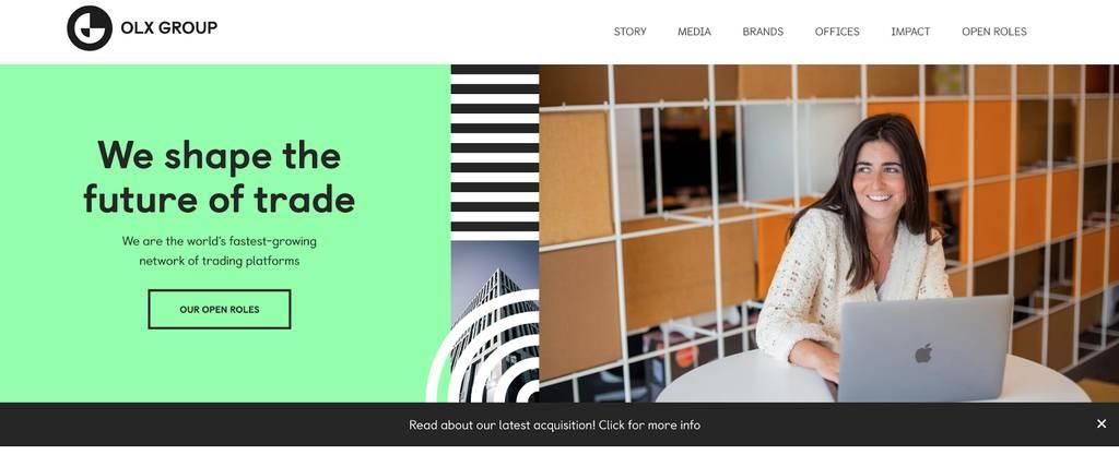 Карьерная страница OLX Group
