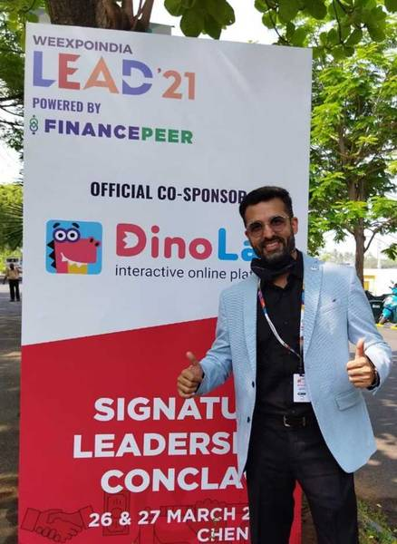Коммерческий директор DinoLab Сахил Капур
